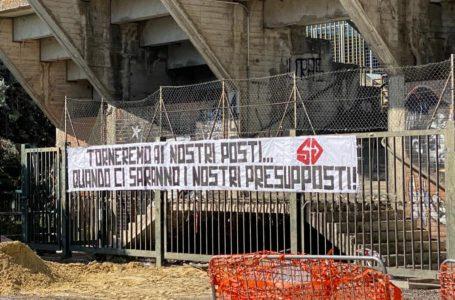 Calcio, dalla vera Curva Est del Teramo ancora un messaggio inequivocabile