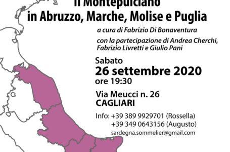 Geografia del Montepulciano, a Cagliari tra Controguerra Doc e le Colline Teramane Docg