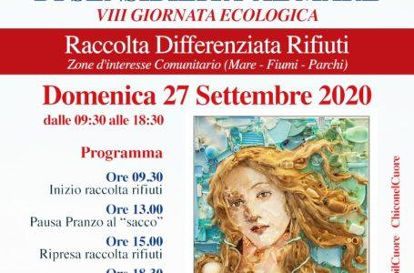 """Giulianova, """"Doniamo un'onda di Sensibilità al mare"""": VIII giornata ecologica alla foce del Tordino"""