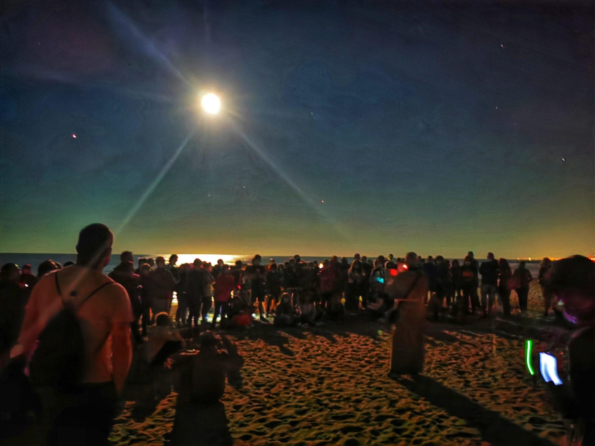 FOTO   Riserva Borsacchio: La Luna e le Dune,  un successo atteso