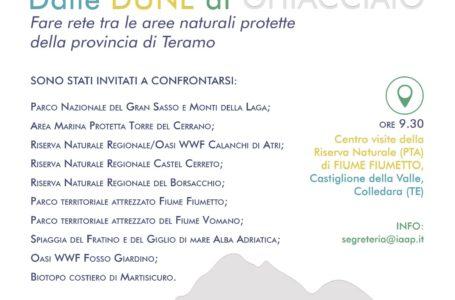 Teramo, fare rete tra le aree naturali protette della provincia: dibattito nella Riserva di Fiume Fiumetto