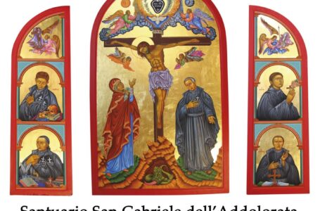 San Gabriele, Pellegrinaggio mondiale icona 3° Centenario fondazione passionisti