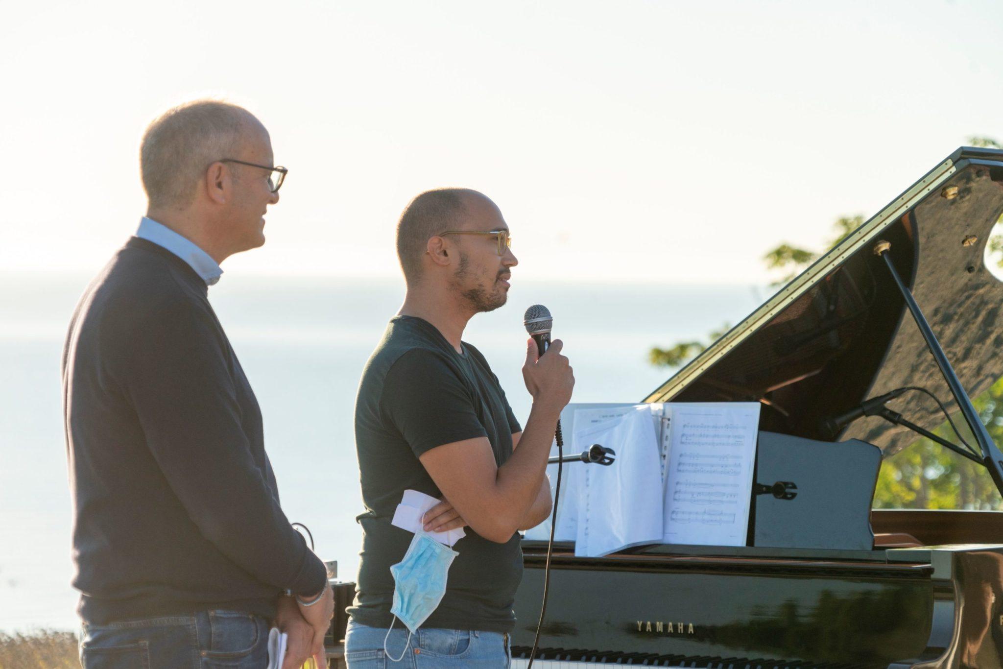 FOTO e VIDEO   Pineto, grandi emozioni con il concerto all'alba dedicato a Ennio Morricone