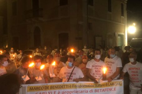 VIDEO    La battaglia della Betafence di Tortoreto si è spostata a Mosciano