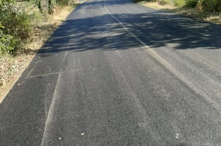 FOTO e VIDEO | Teramo, asfaltata la strada disastrata in contrada Galeotti: un'attesa di 35 anni!