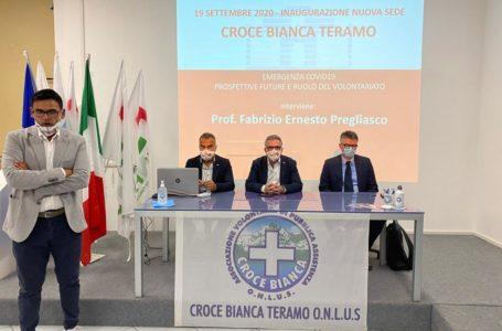 FOTO e VIDEO | Croce Bianca, finalmente una vera sede a Teramo