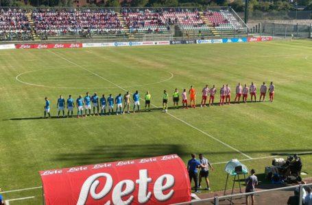 Calcio, finisce 4-0 per i partenopei l'amichevole tra Napoli e Teramo: tripletta per Osimhen