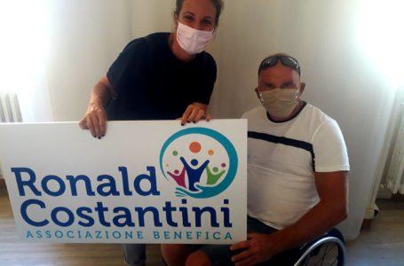 """L'associazione """"Ronald Costantini"""" aiuta il pilota paraplegico Iwan Piccioni"""