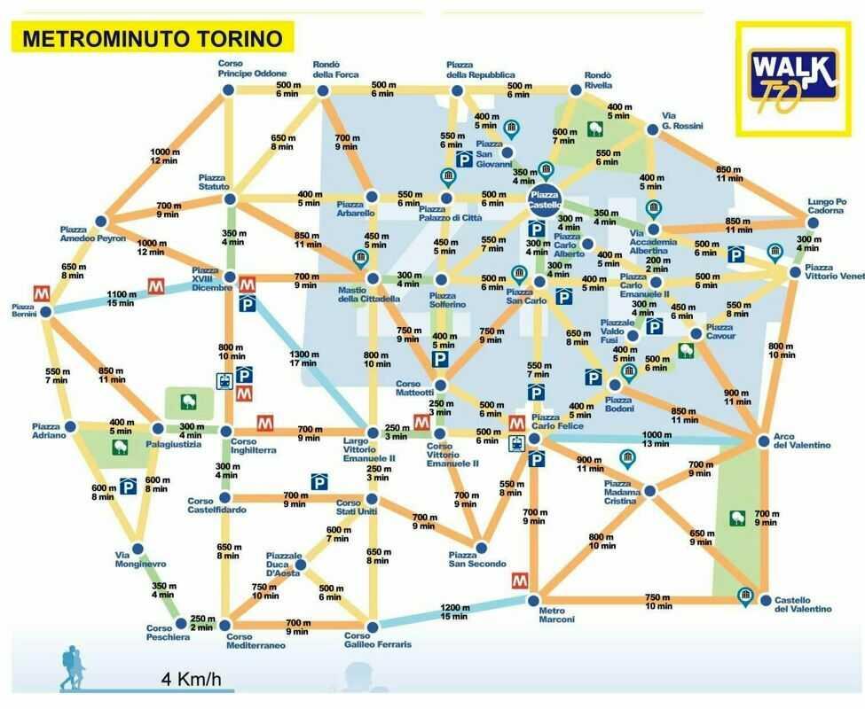 Metrominuto: a piedi (e in bici) si fa prima