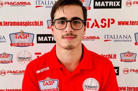 Basket B, Angelo Vitelli nello staff allenatori del Tasp Teramo