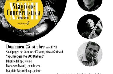 """L'800 italiano nel secondo concerto della XXVII stagione della """"Benedetto Marcello"""". Domenica all'Ipogeo"""