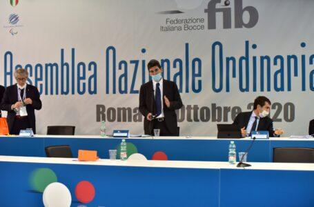 Il Presidente Marco Giunio De Sanctis confermato al vertice della Federazione Italiana Bocce