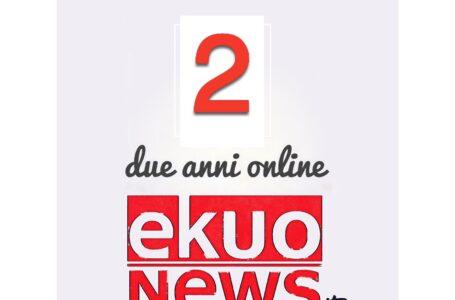 2 ottobre 2020: è il secondo compleanno di ekuonews!