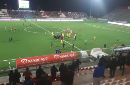 VIDEO | Calcio C, lo spartito del Teramo è vincente: battuta la Juve Stabia (1-0) con un gol di Arrigoni