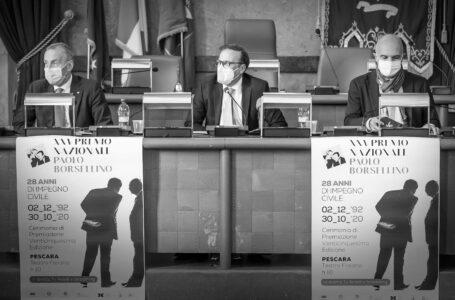 VIDEO   25° Premio Borsellino per la legalità e l'etica della responsabilità. Il 30 ottobre la Premiazione
