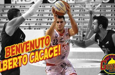 Basket, colpo di mercato del Giulia Basket: Alberto Cacace in giallorosso