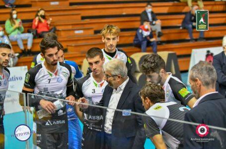 Volley A3, sconfitta al tie-break per il Pineto dopo il vantaggio di due set