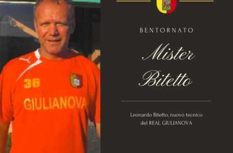 Calcio, Bitetto è il nuovo allenatore del Real Giulianova