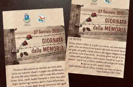 Tortoreto, Giornata della Memoria: l'iniziativa nel mondo delle scuole