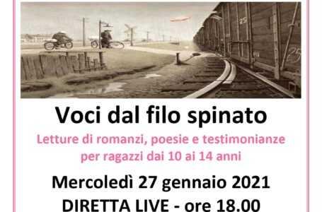 """""""Voci dal filo spinato"""",  l'Amministrazione e la Biblioteca Comunale di Alba Adriatica celebrano la """"Giornata della Memoria"""""""