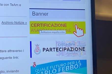 VIDEO e FOTO | Teramo: rilascio certificati online, tutorial e istruzioni dal sito del Comune