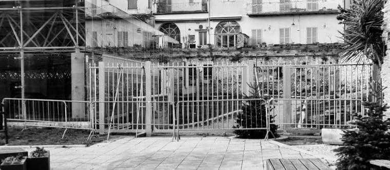 VIDEO | Teramo, il cancello in piazza Sant'Anna? E' una questione di sicurezza