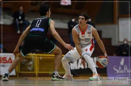 Basket B, finalmente Rennova Tasp: battuta Ancona (66-57) dopo 5 sconfitte