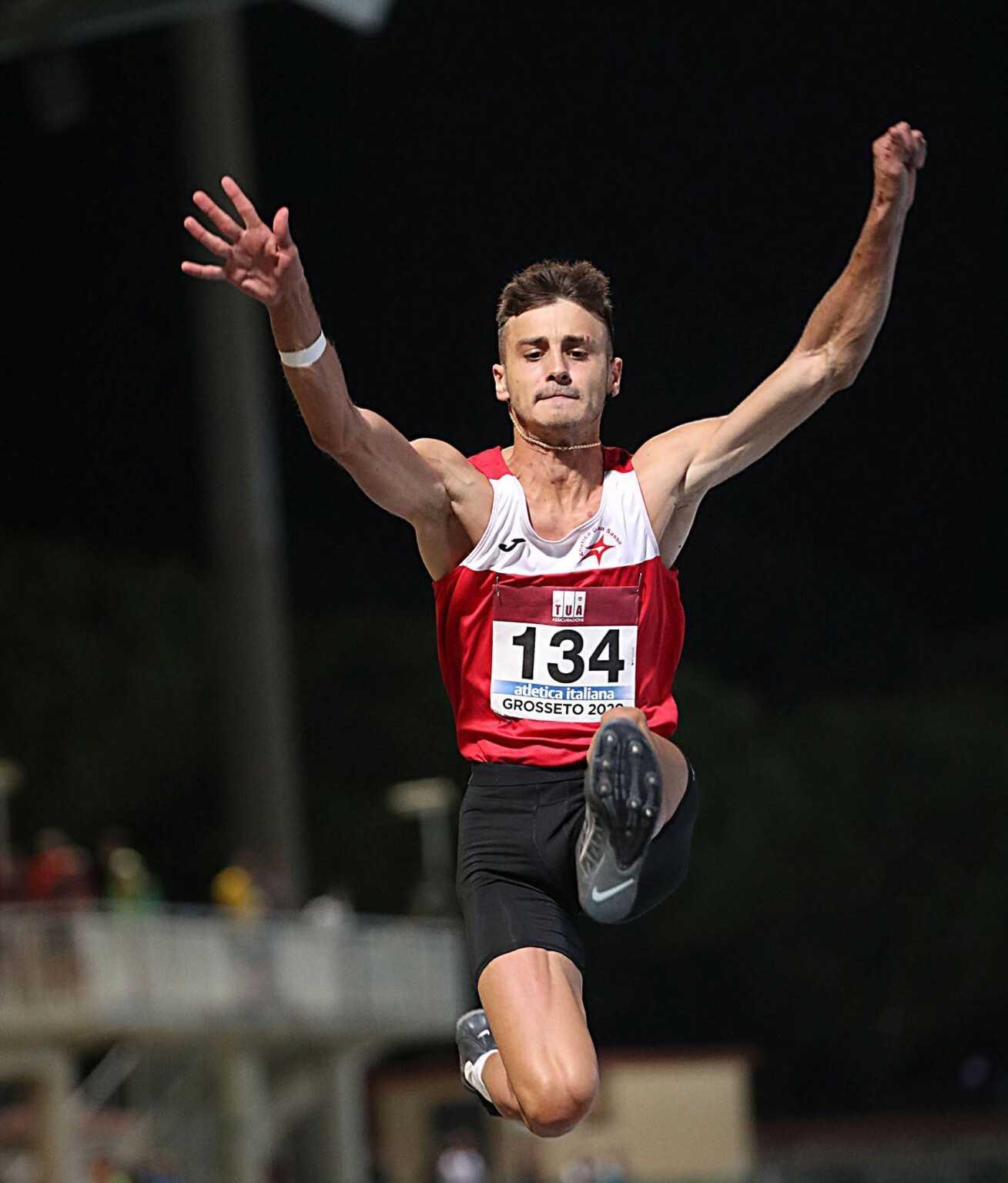 Atletica Gran Sasso, Lorenzo Mantenuto convocato al raduno nazionale salti