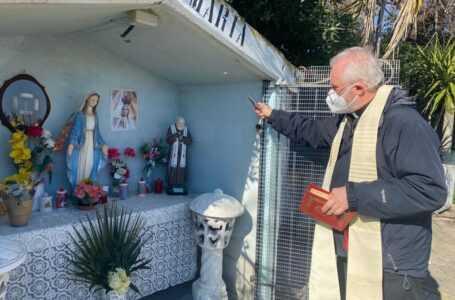 Giulianova, è stata benedetta la nuova statua di San Pio