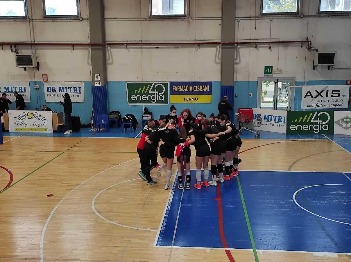 Volley B2, la Futura Teramo cede 3-0 alla capolista Porto San Giorgio