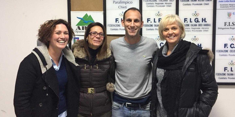 Sport paralimpico, Sciulli riconfermato presidente del CIP Abruzzo