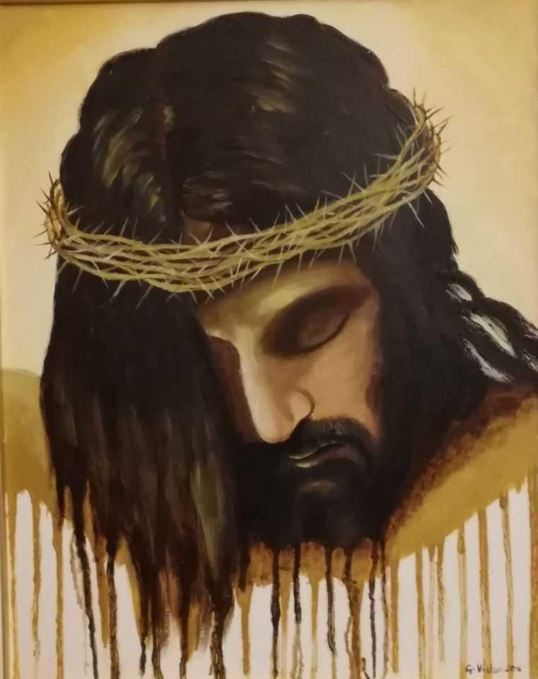 La Passione di Gesù nell'interpretazione di Giorgina Violoni