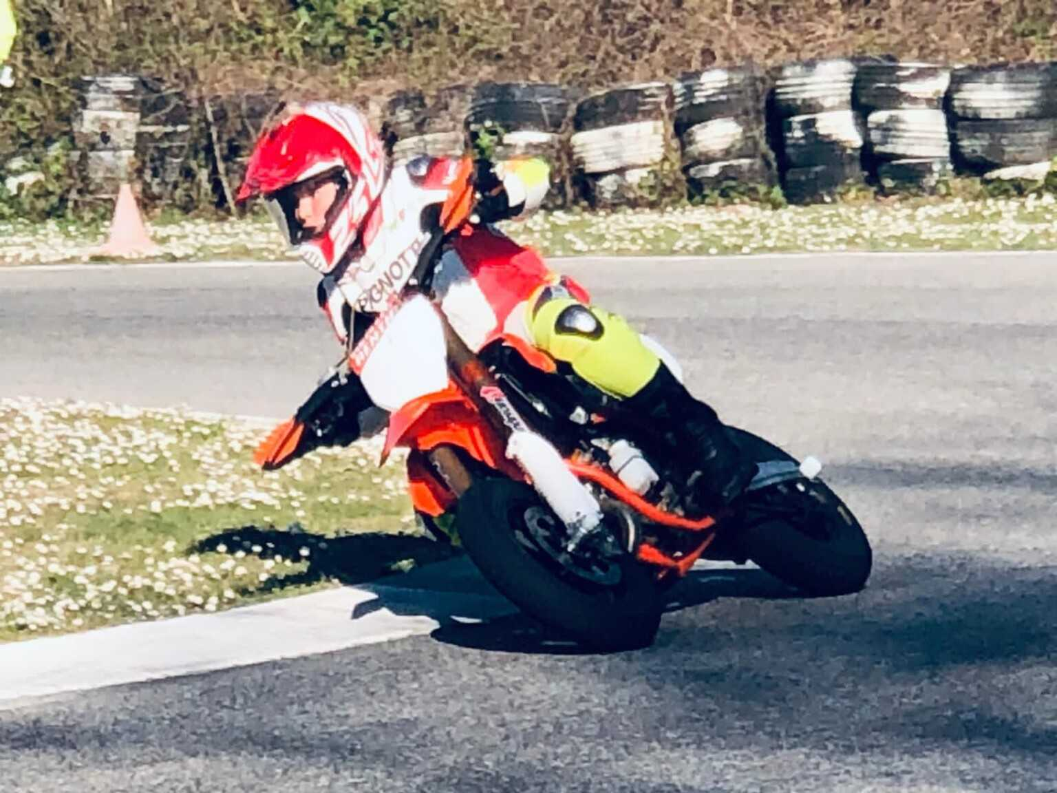 Moto, esordisce Luigi Morricone nella categoria Supermoto