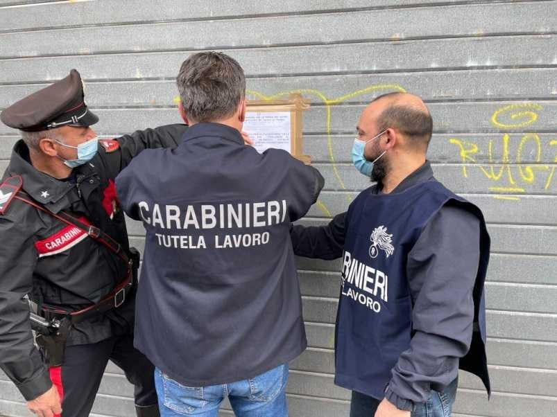 Teramo, lavoro nero e violazione norme anti Covid: chiuso un autolavaggio, sanzioni per circa 17.000 euro