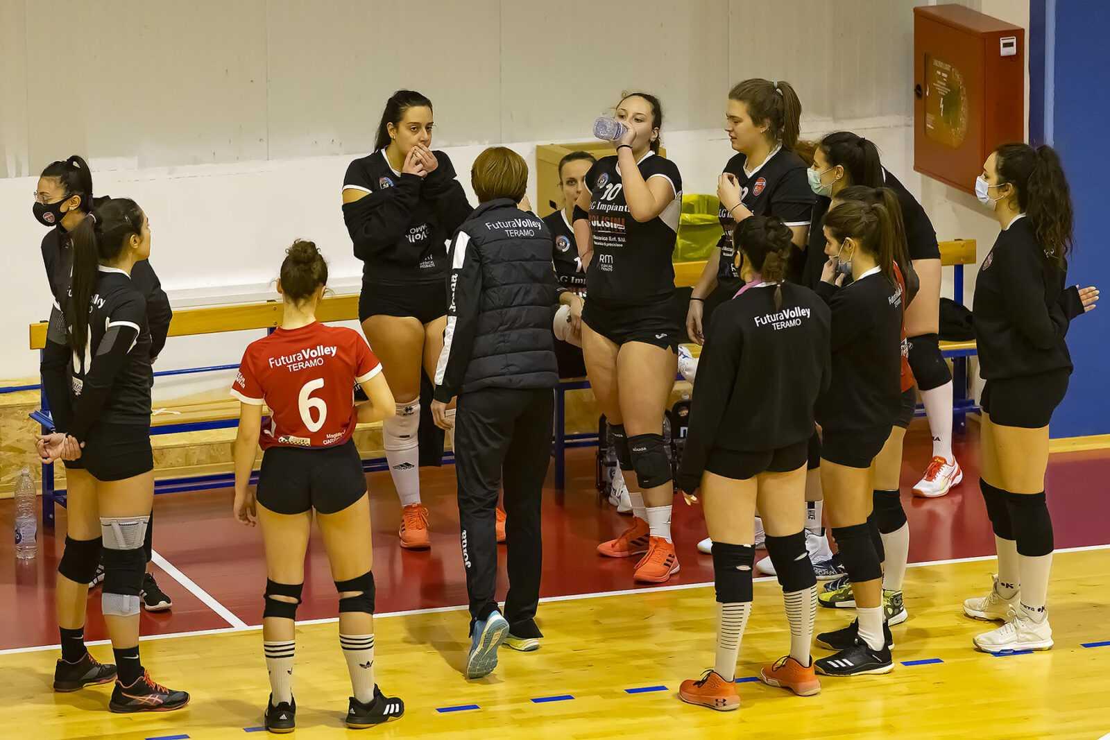 Volley B, la Futura Teramo nei playoff : doppio confronto con le umbre della Trestina