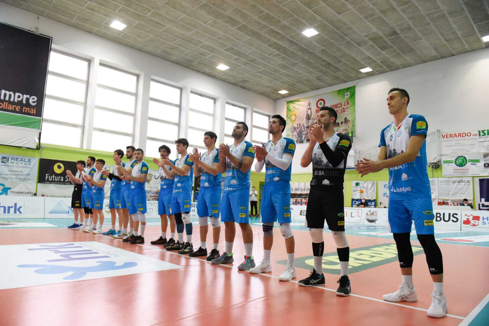 Volley A3, finisce nel trevigiano l'avventura dell'Abba Pineto (3-0 in gara 3)