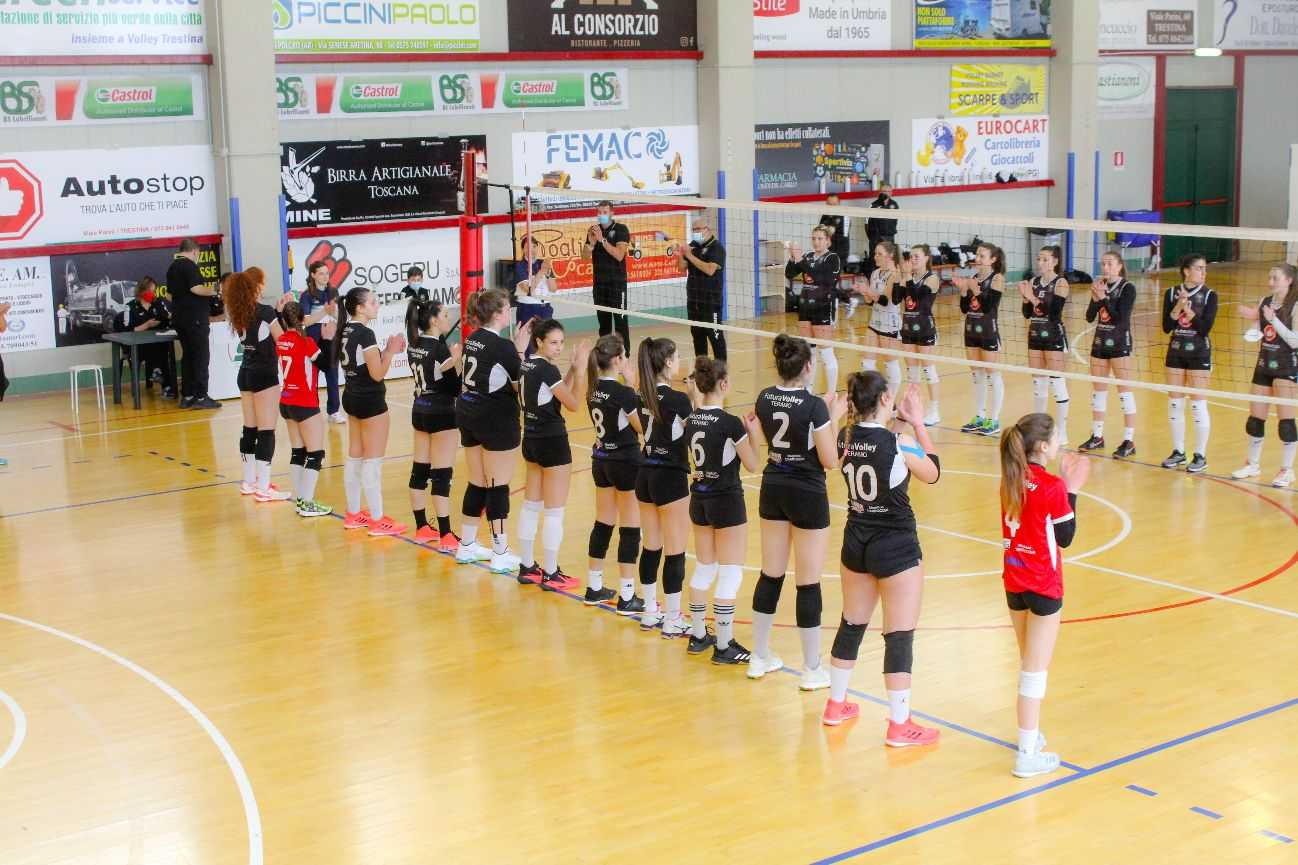 Volley B donne, la Futura Teramo perde anche gara due ed esce dai play-off