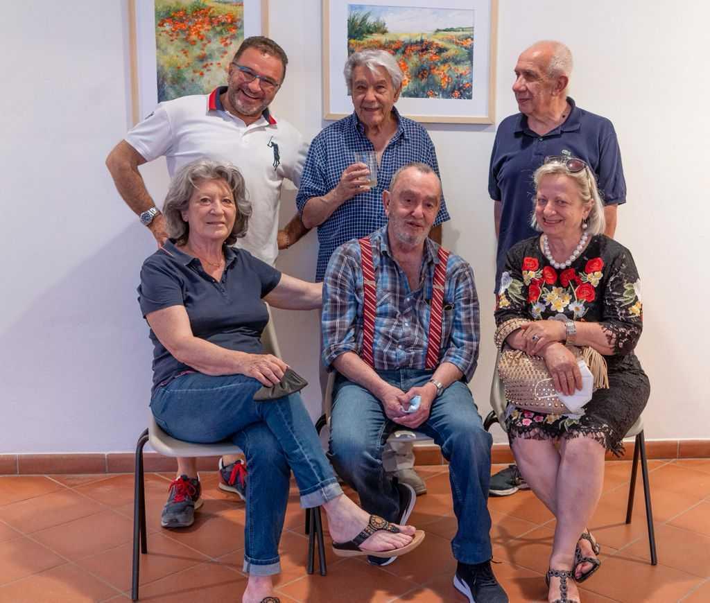 Il Maestro Glauco Barlecchini espone a Teramo sulla strada per Extemporamnia '21