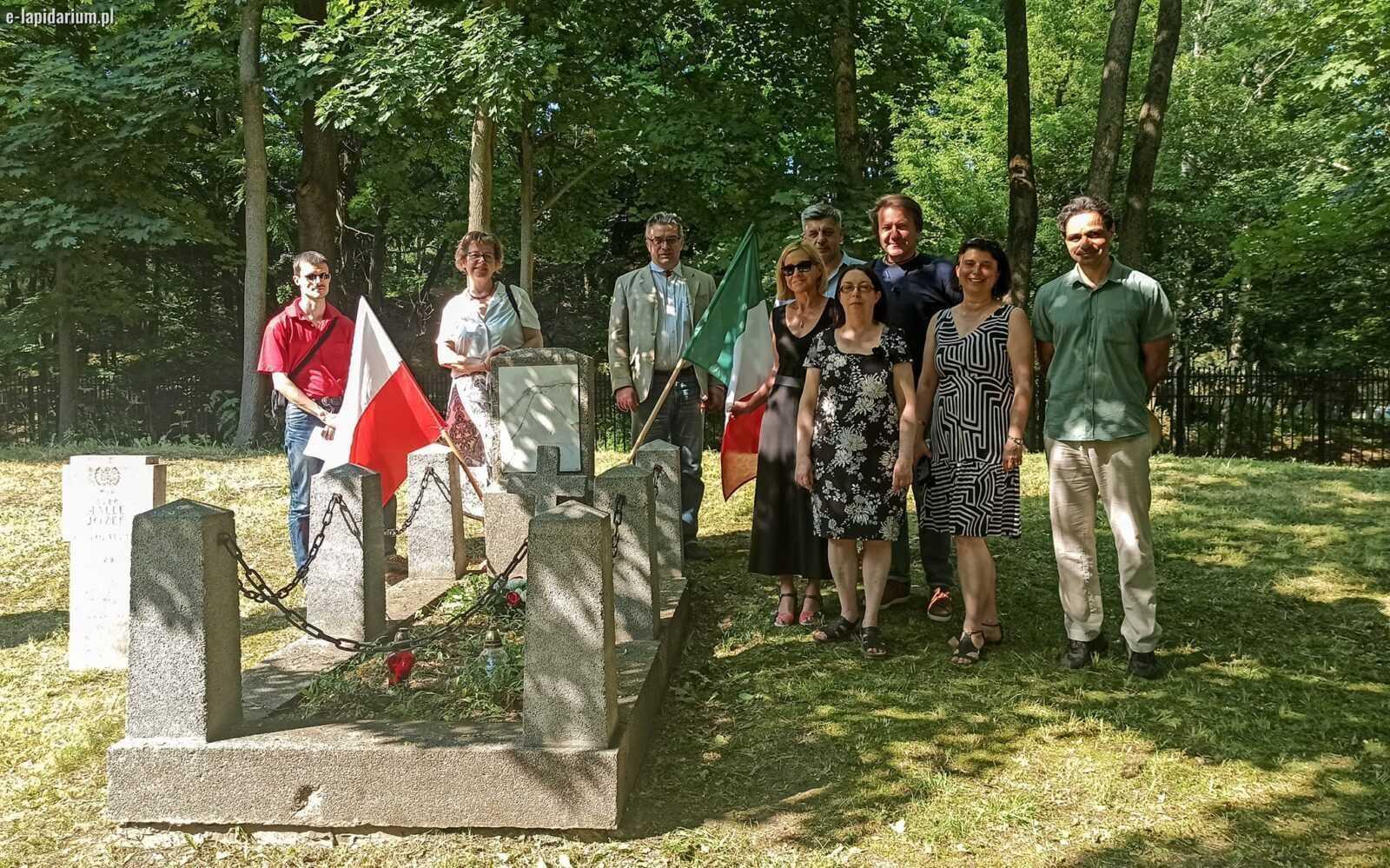 FOTO   Sarà restaurata la tomba del giuliese Novizzo Cittadini, unico italiano morto a Poznań nel 1919