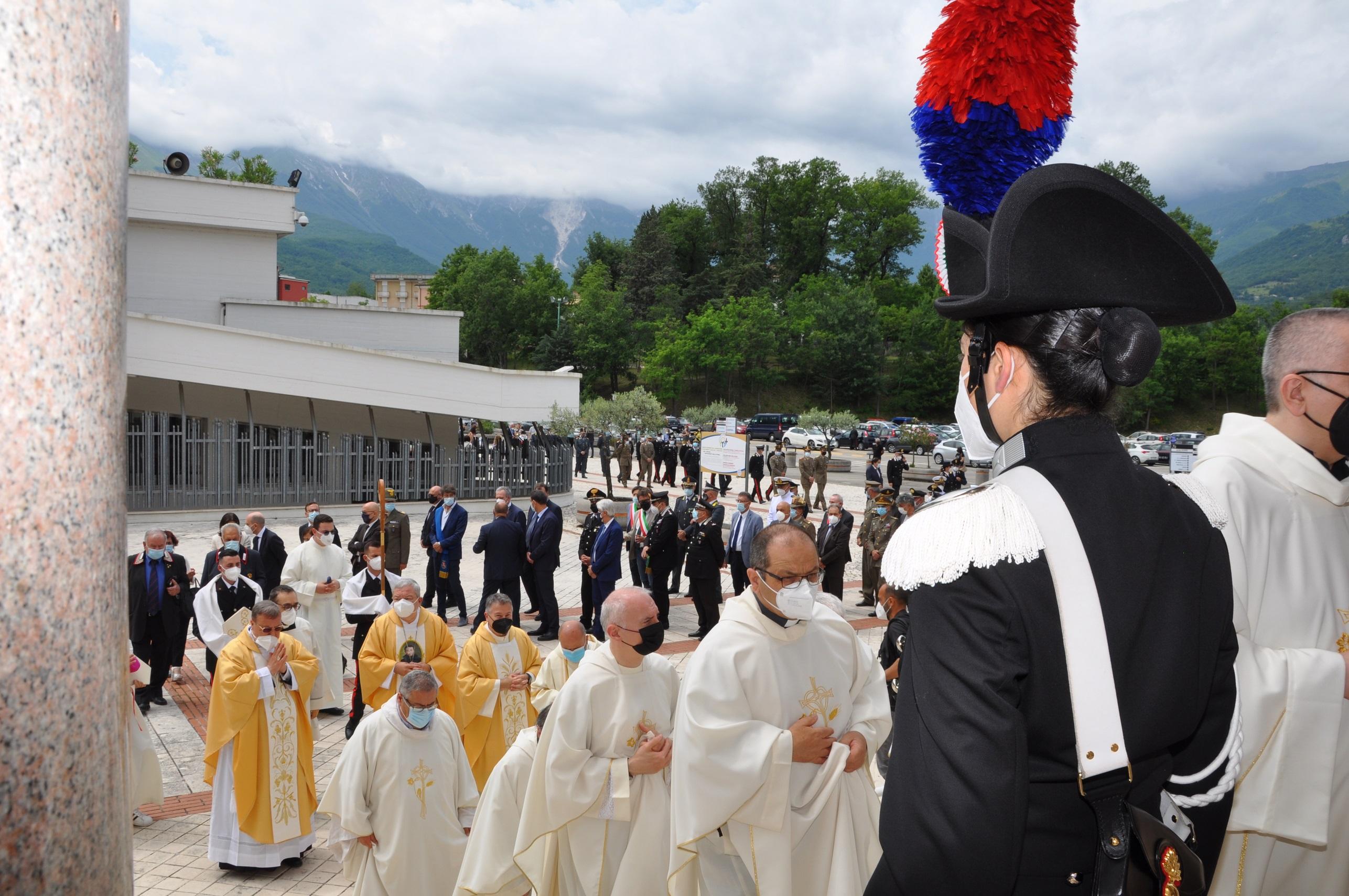 FOTO   A San Gabriele il giubileo delle Istituzioni e delle Forze dell'ordine