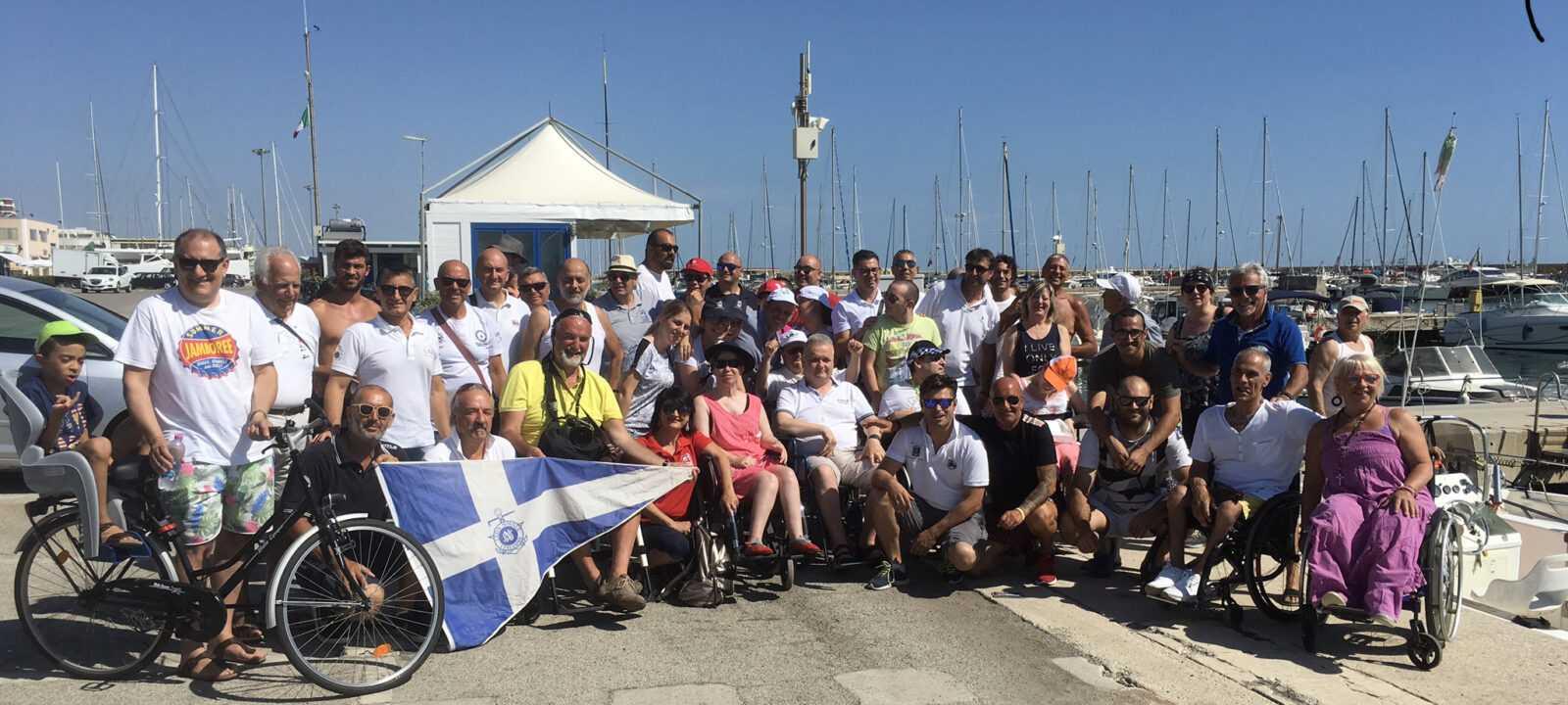 """Giulianova, torna """"Navigare senza Barriere"""": gite in barca ed immersioni anche per i diversamente abili"""