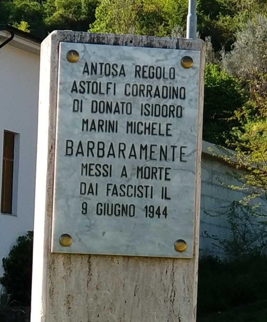Commemorazione Martiri del cimitero di Montorio nel 77° anniversario del barbaro assassinio