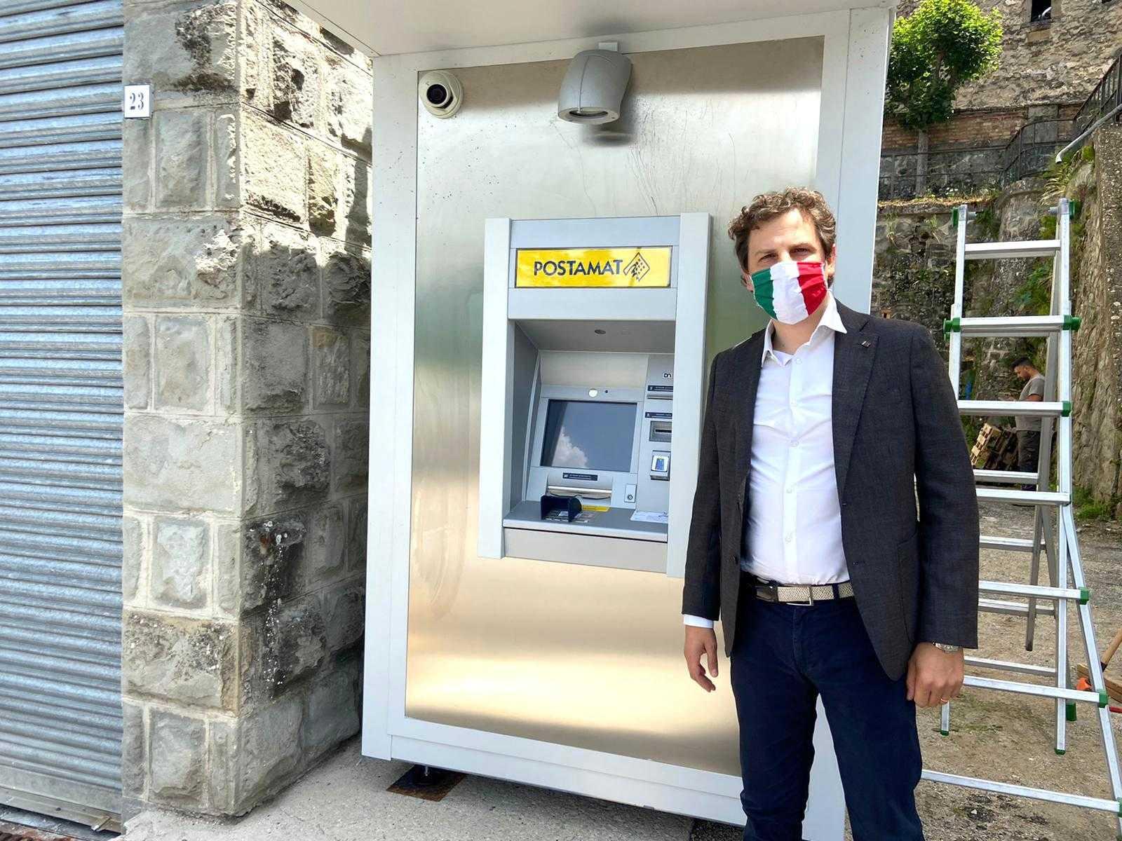"""Zennaro: """"Dopo tre anni di battaglie torna il bancomat a Pietracamela"""""""
