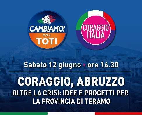 Cambiamo e Coraggio Italia: sabato giornata nel teramano con Quagliariello e i rappresentanti territoriali