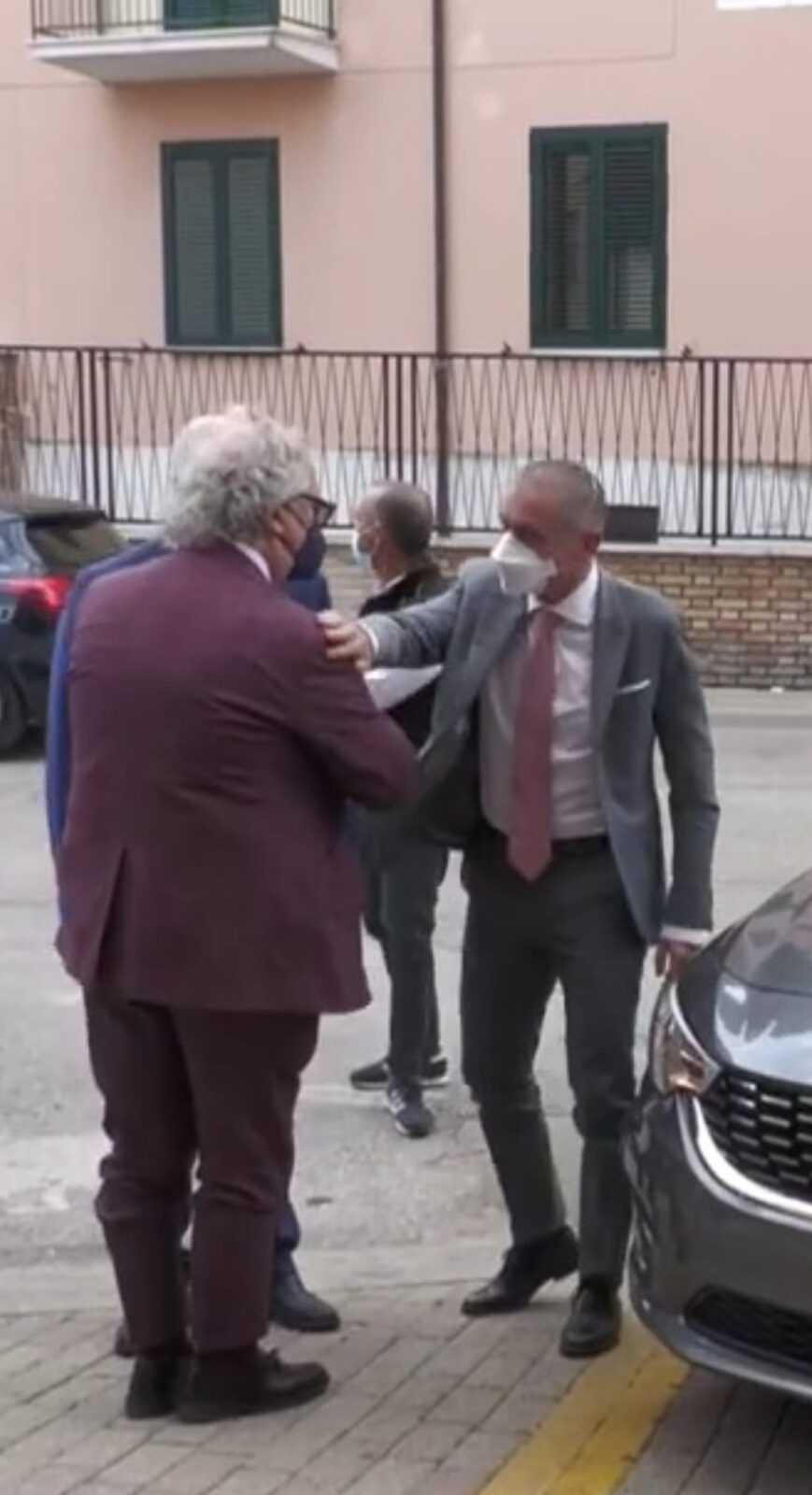 Teramo, il sottosegretario Costa in visita all Asl incontra il DG Di Giosia