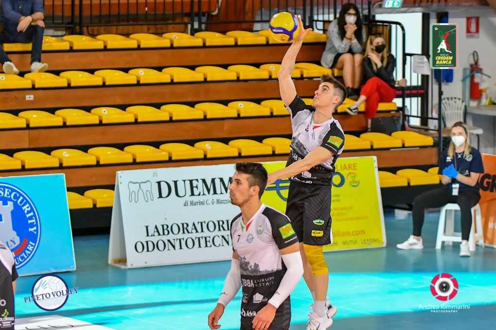 Volley A3, il giovane Mattia Catone resta all'Abba Pineto