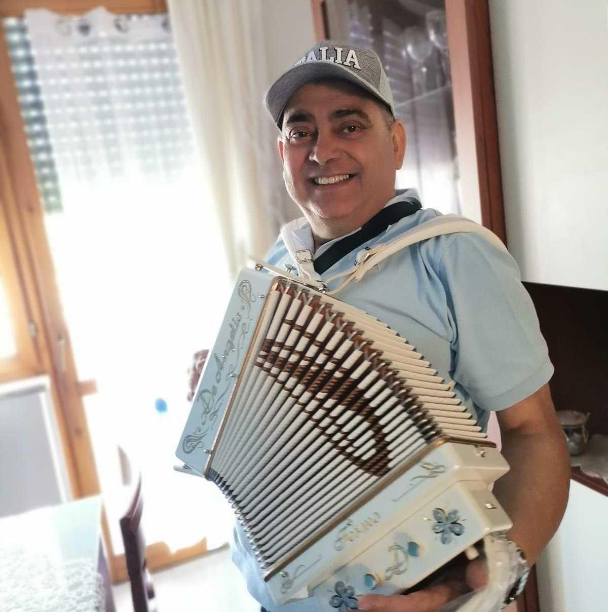 Lutto a Montorio, è scomparso il Maestro dell'Organetto Alberto Pio: aveva 55 anni