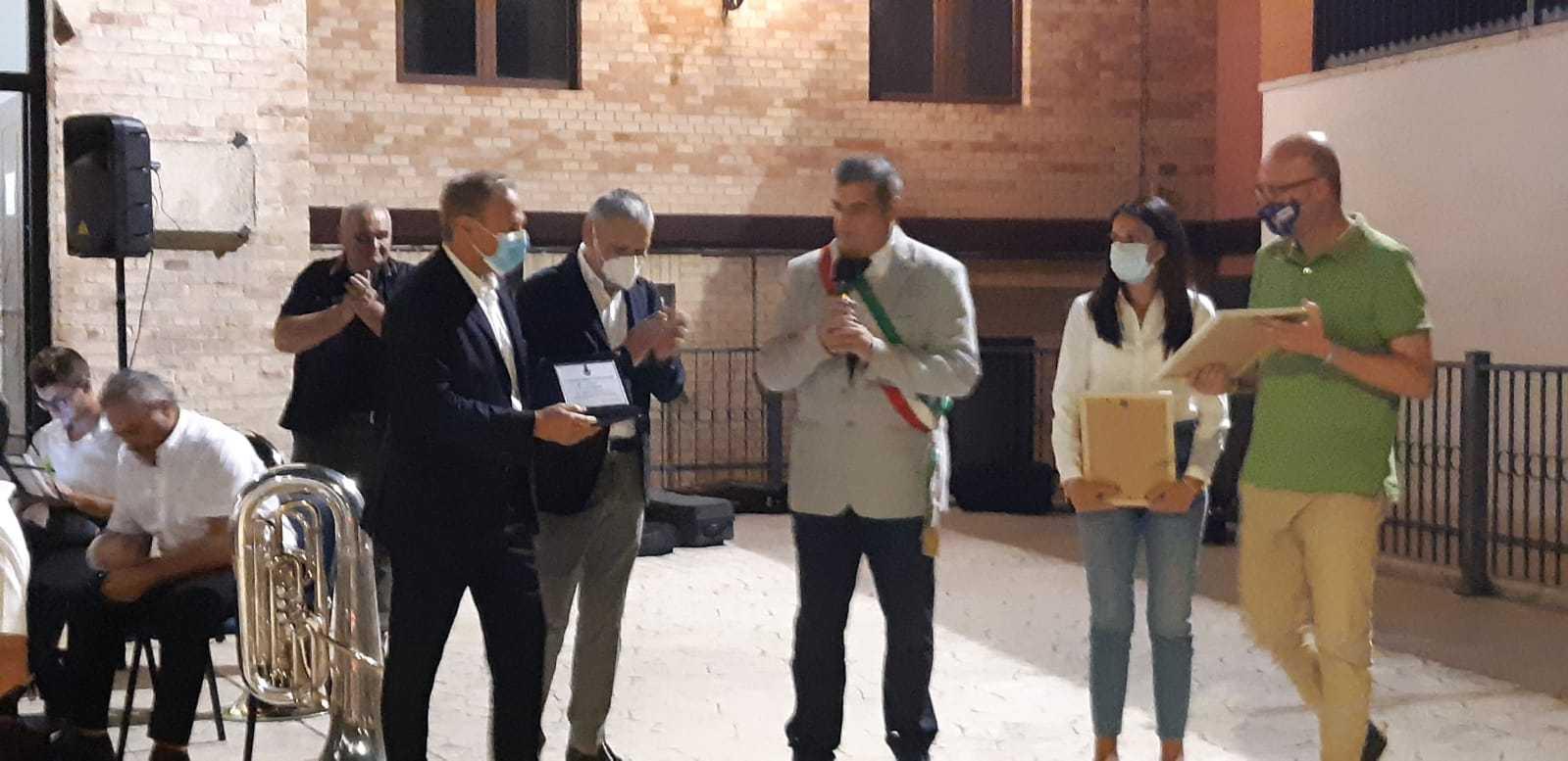 FOTO   Ancarano, festa di San Simplicio: premio scientifico Giuseppe Flajani