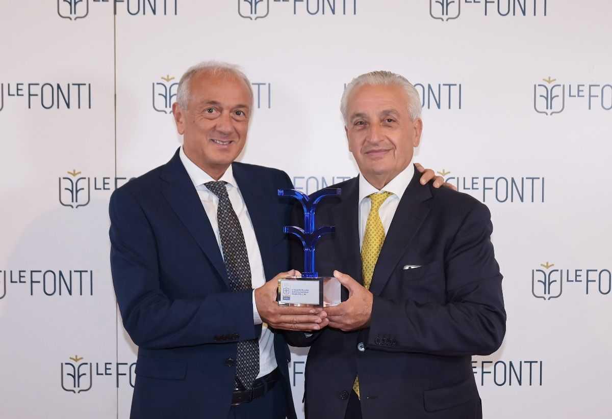 BCC Basciano, Le Fonti Award premiano la banca teramana tra le PMI