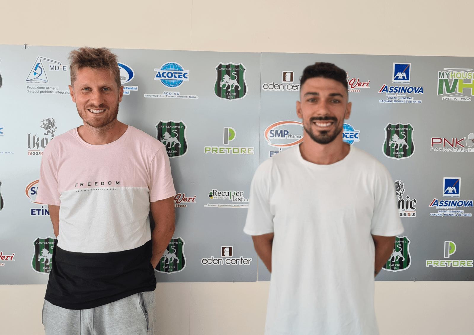 Calcio D, Casimirri e Terrenzio confermati dal Castelnuovo